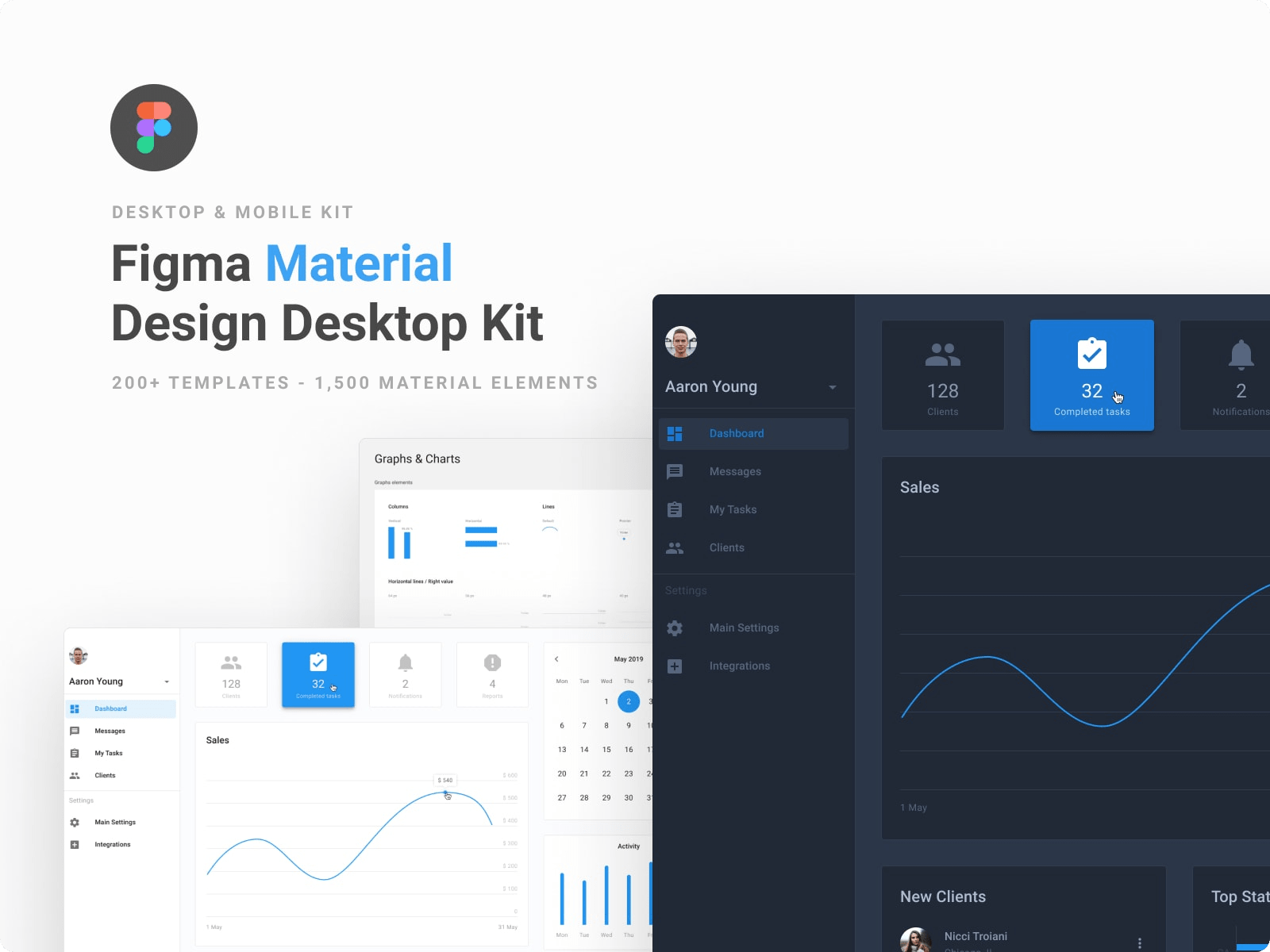 Figma Material Design UI Kit & Component Library
