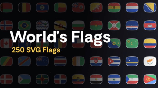 Figma Country Flags